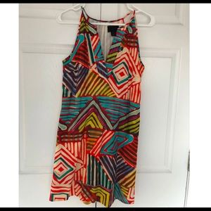 Colorful dress J.Crew XXS